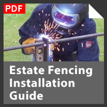 Download our Estate Fencing Installation Guide