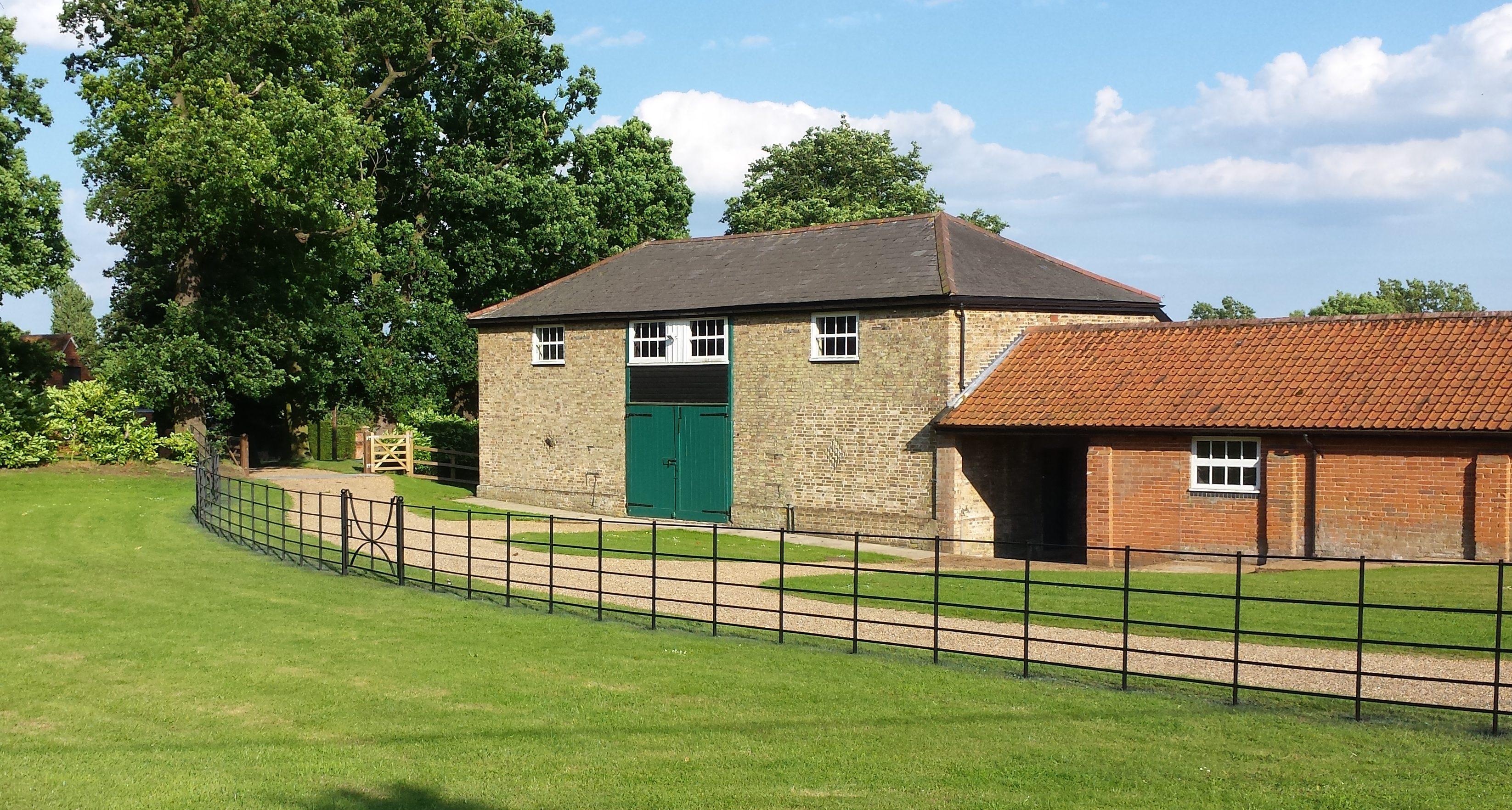 Estate fencing in Sussex