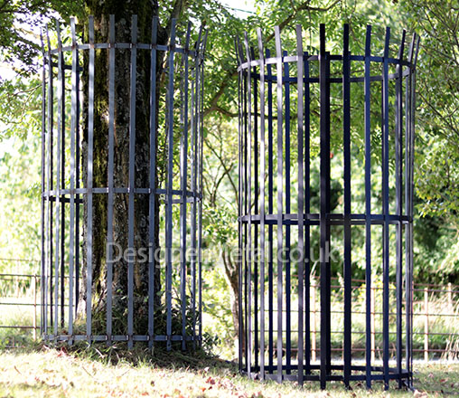 Classic XL extra large sized metal tree guard