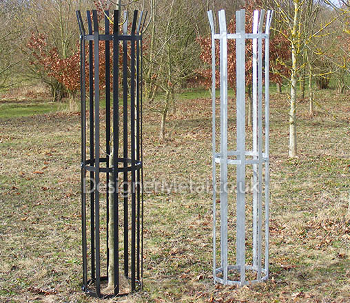 three quarter Metal tree guards