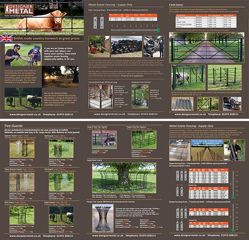 Designer Metal brochure
