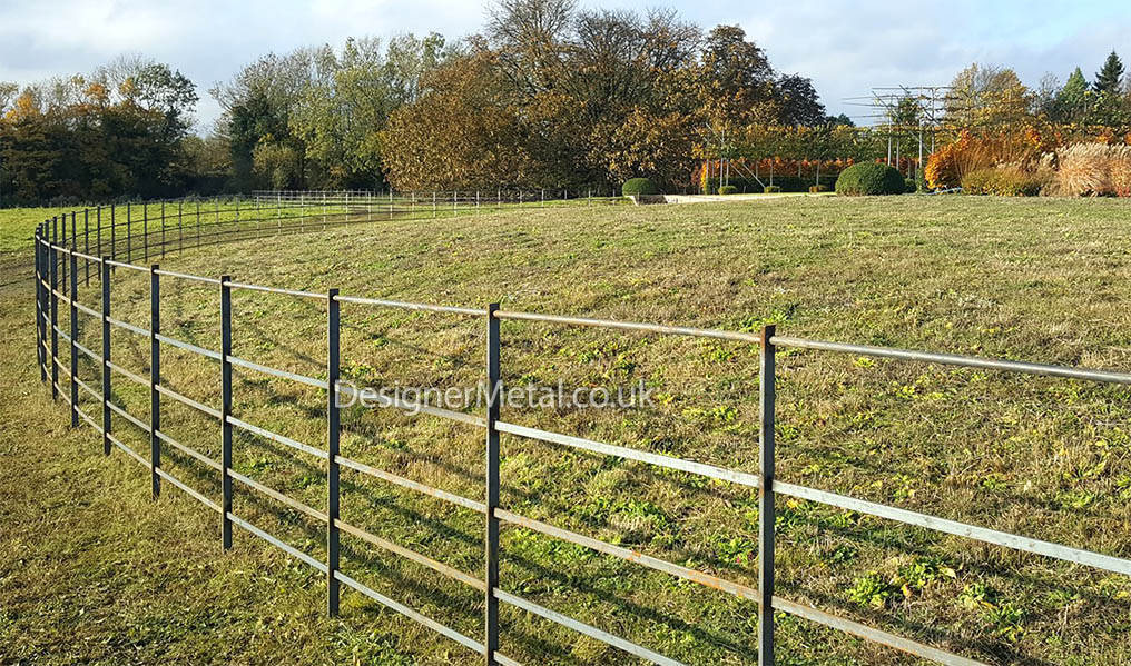 Our Style 2 fencing installed