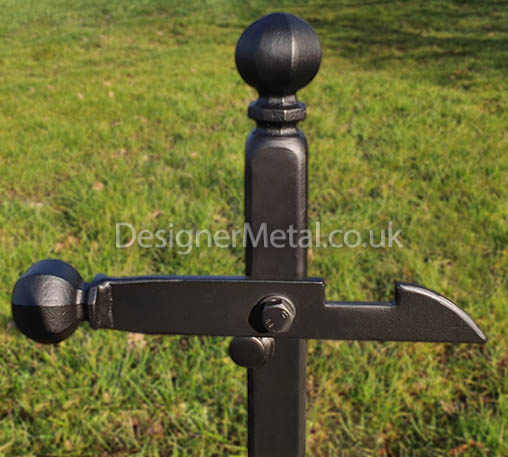 Metal gate catcher for our metal field gates