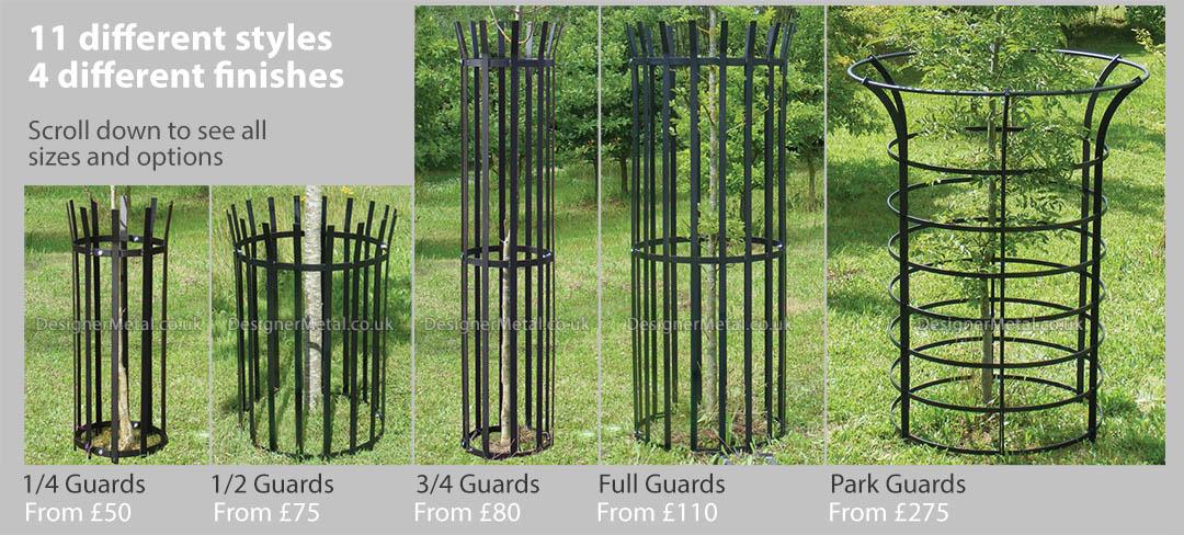 Classic metal tree guards range